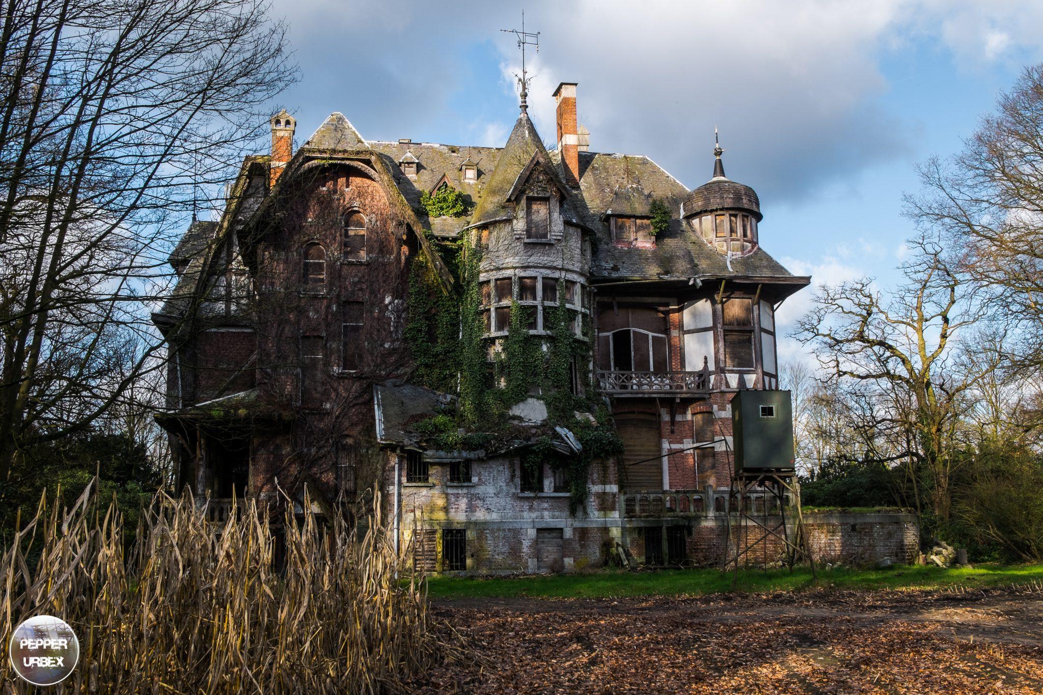 Ch 226 Teau Nottebohm Be Abandoned Castle In Belgium