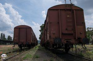 Treinstation Praag 2