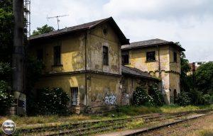 Treinstation Praag 4 1