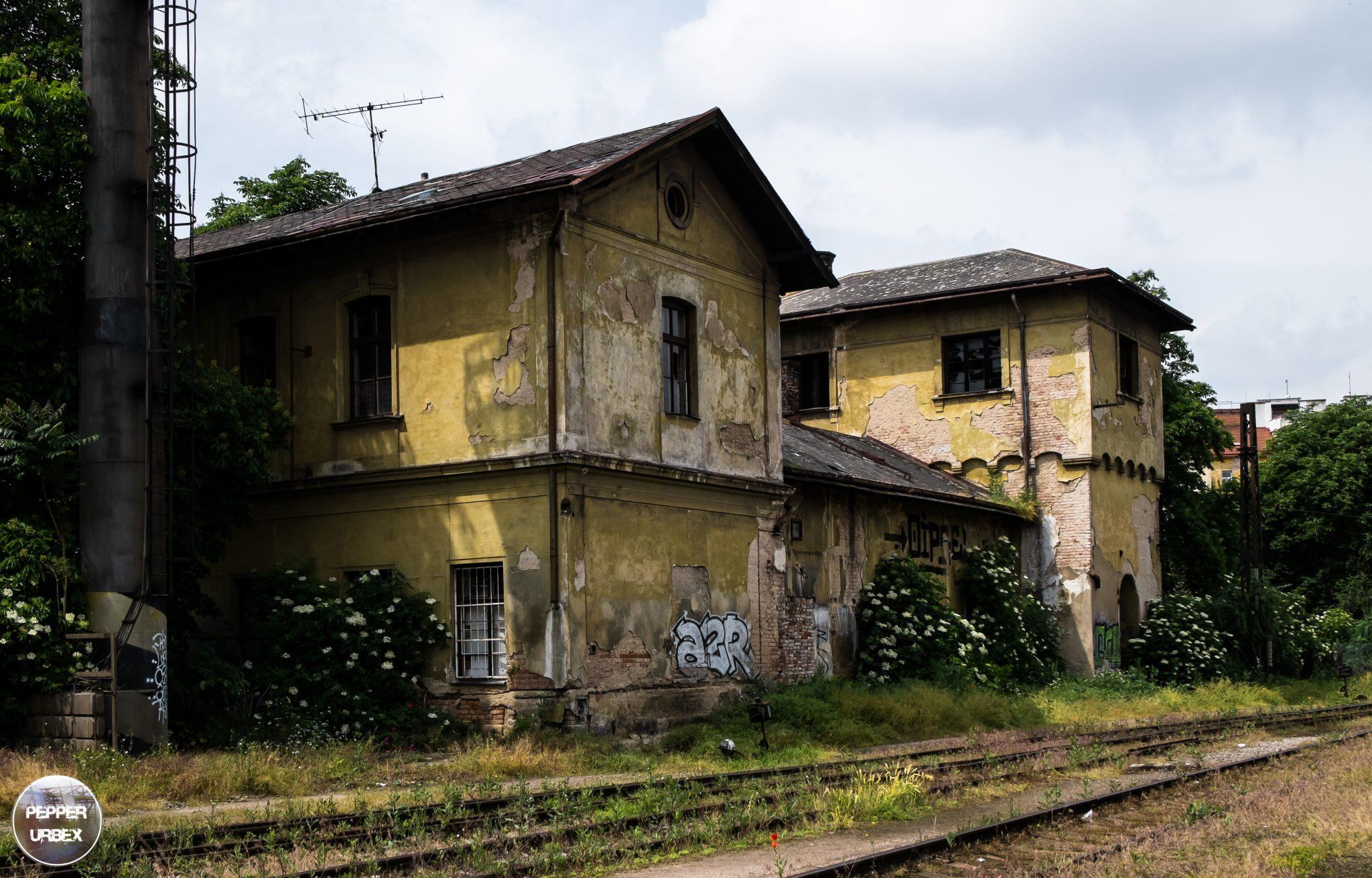 Treinstation Praag 4