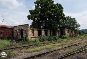 Treinstation Praag 6